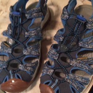 Keen Closed Toe Watersport Sandal Woman's 9 Blues